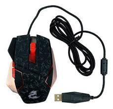 MOUSE GAMER USB KP-V7 GAMER 1600DPI KNUP