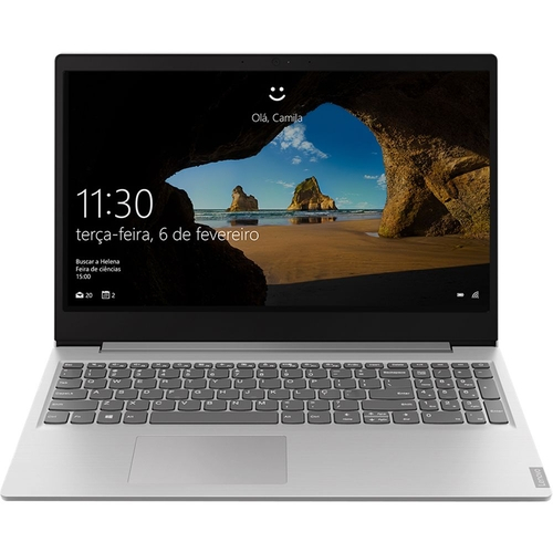 NOTEBOOK  LENOVO IDEAPAD S145 INTEL, 4GB, HD500GB,15.6 PRATA