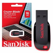 PENDRIVE 16GB SANDISK Z50 CRUZER BLADE