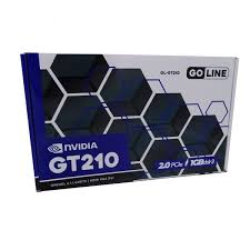 PLACA DE VÍDEO GT210 GOLINE 500MHZ 64BIT DDR3