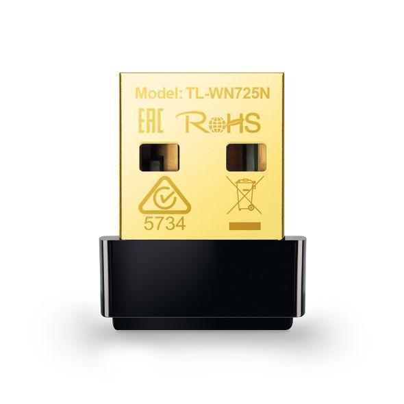 RECEPTOR DE REDE WIFI USB TP-LINK WN725N
