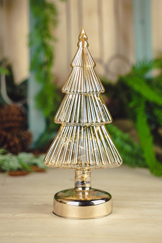 Árvore Decorativa-C/ Led 29cm