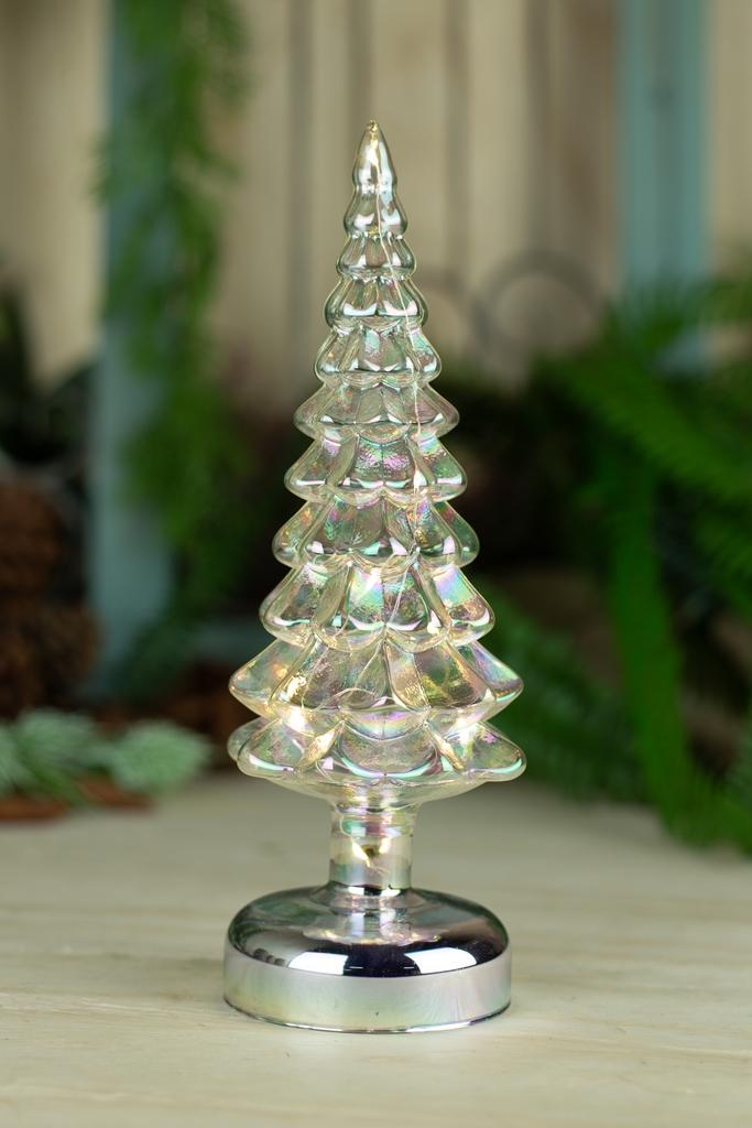 Árvore Decorativa - C/ Led - Branco