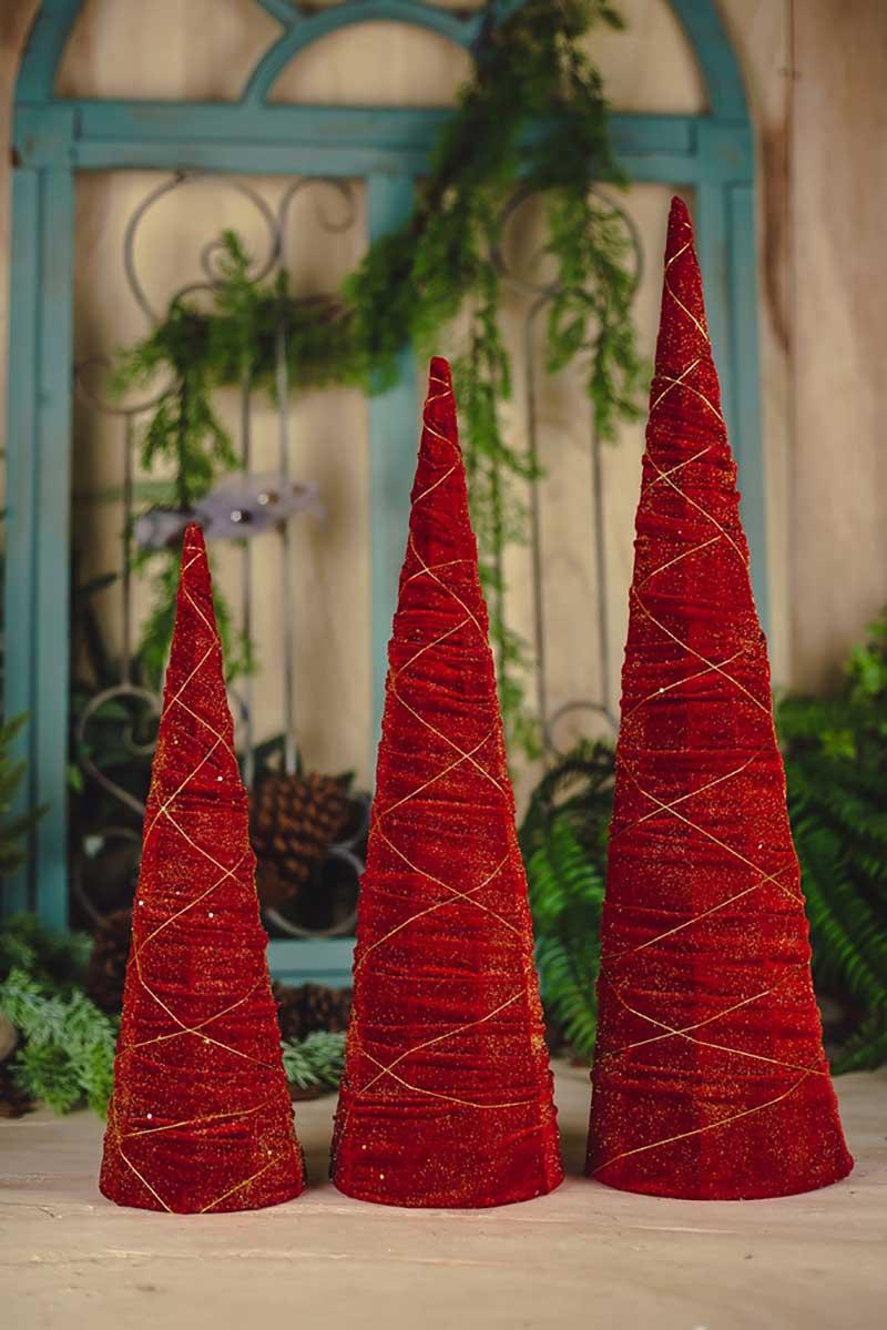Árvores Decorativas 3pçs