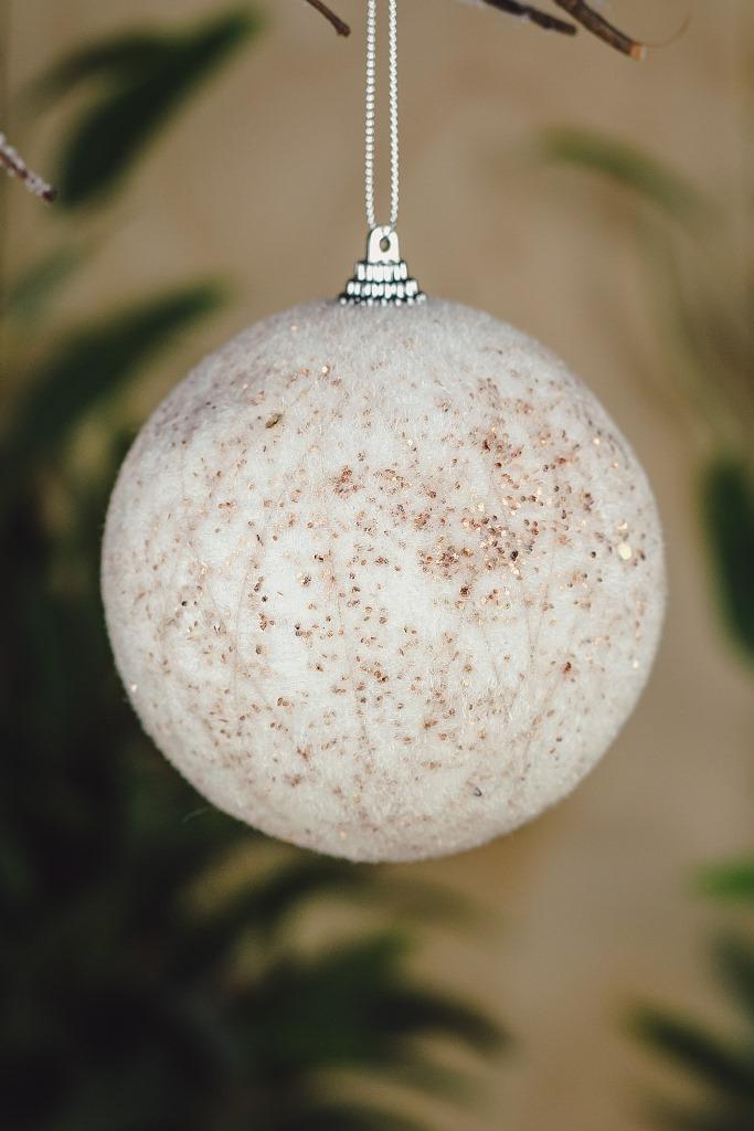 Bola  Decorada 10cm  - 3pçs