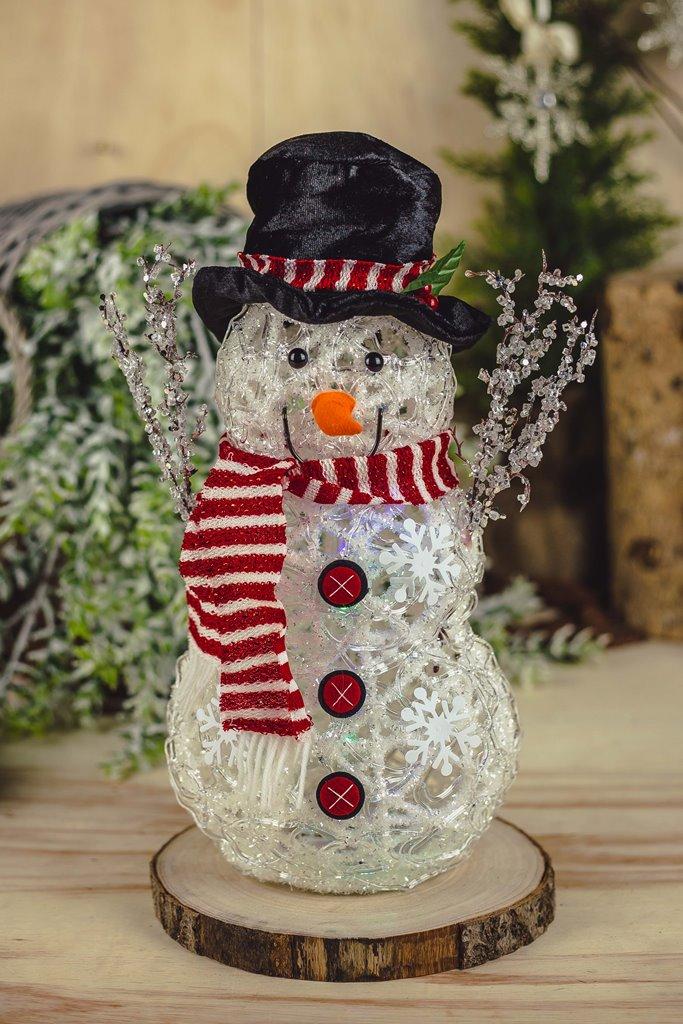 Boneco de Neve Chapéu c/ Led