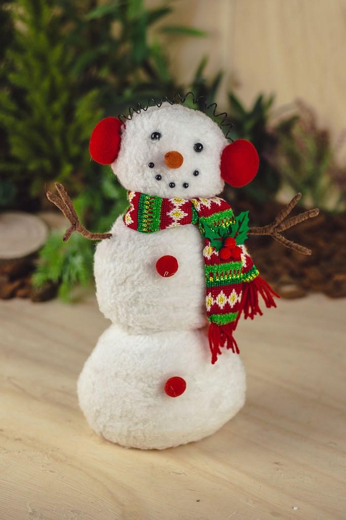 Boneco de Neve Decor Luna 35cm