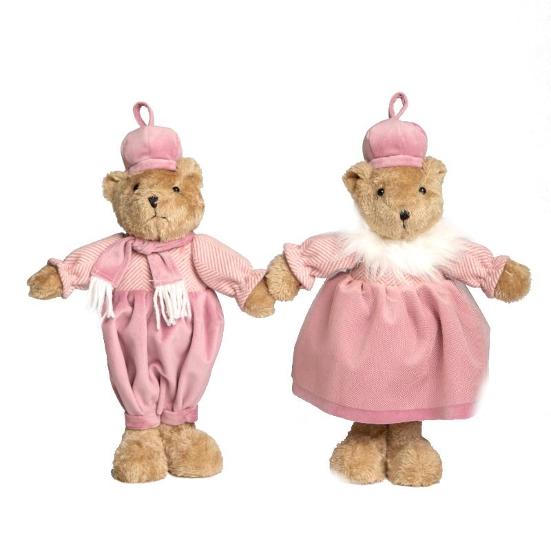 Casal Ursos Jolie 2pçs
