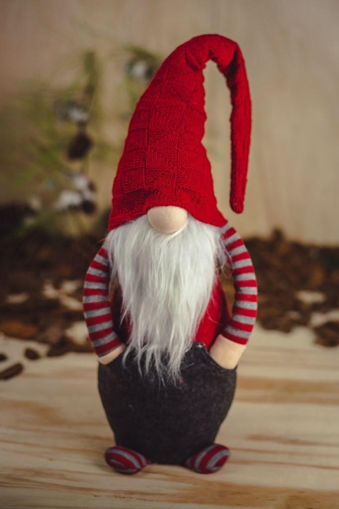 Papai Noel Ruby c/ as Mãos no Bolso