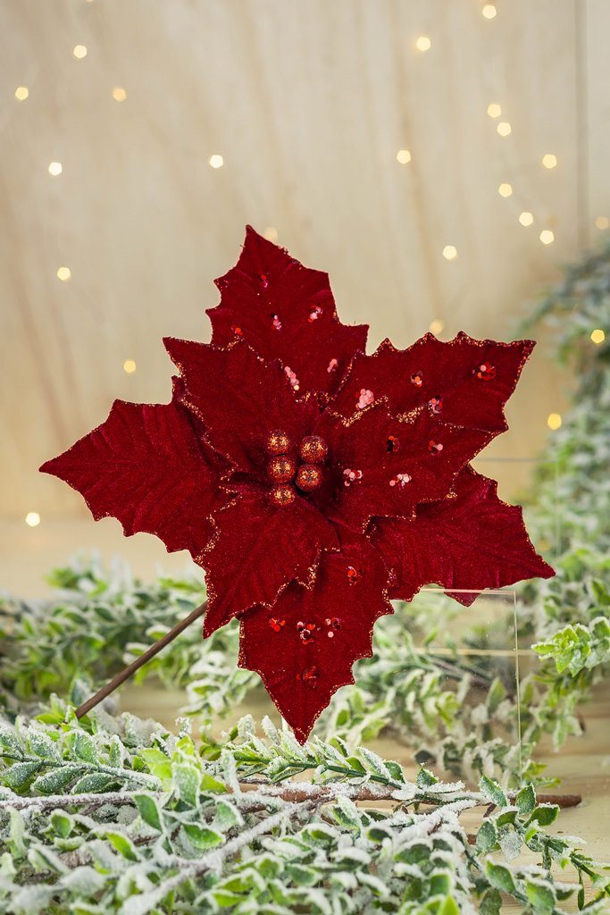 Poinsetia Decorativa - 26cm