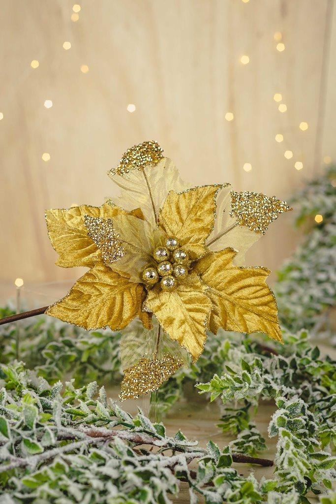 Poinsetia Decorativa - 27cm