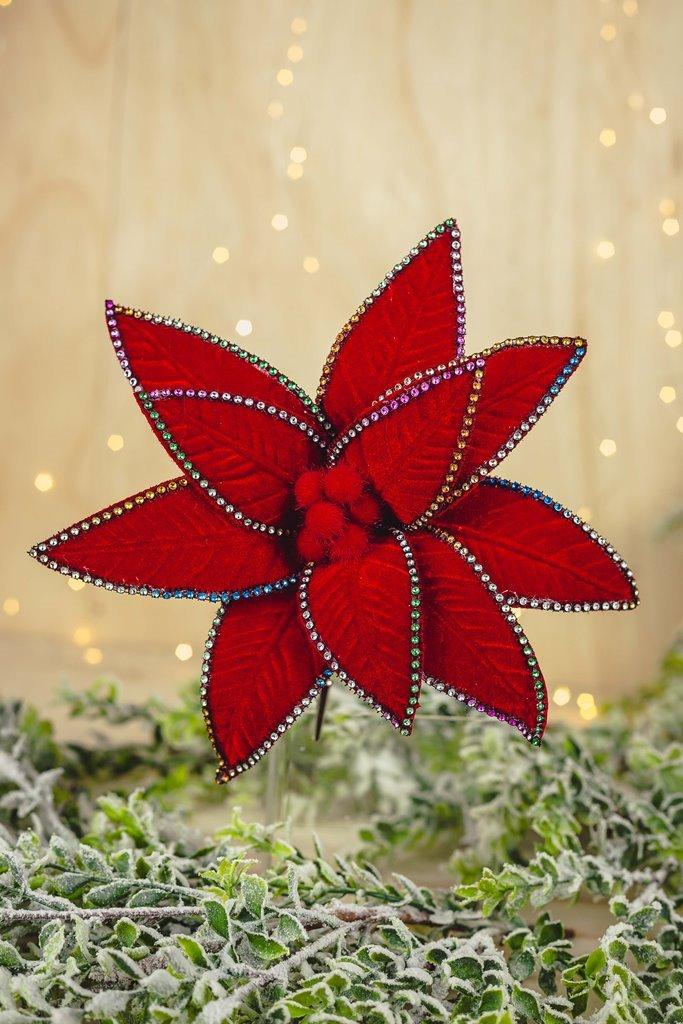 Poinsetia Decorativa - 33cm