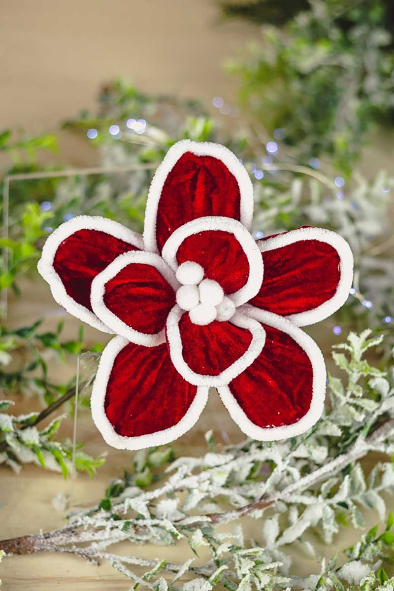 Poinsetia Decorativa - 34cm