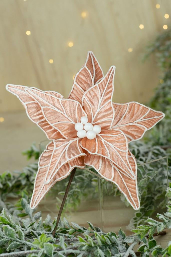 Poinsetia Decorativa - 37cm