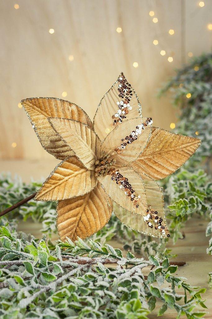 Poinsetia Decorativa - 50cm