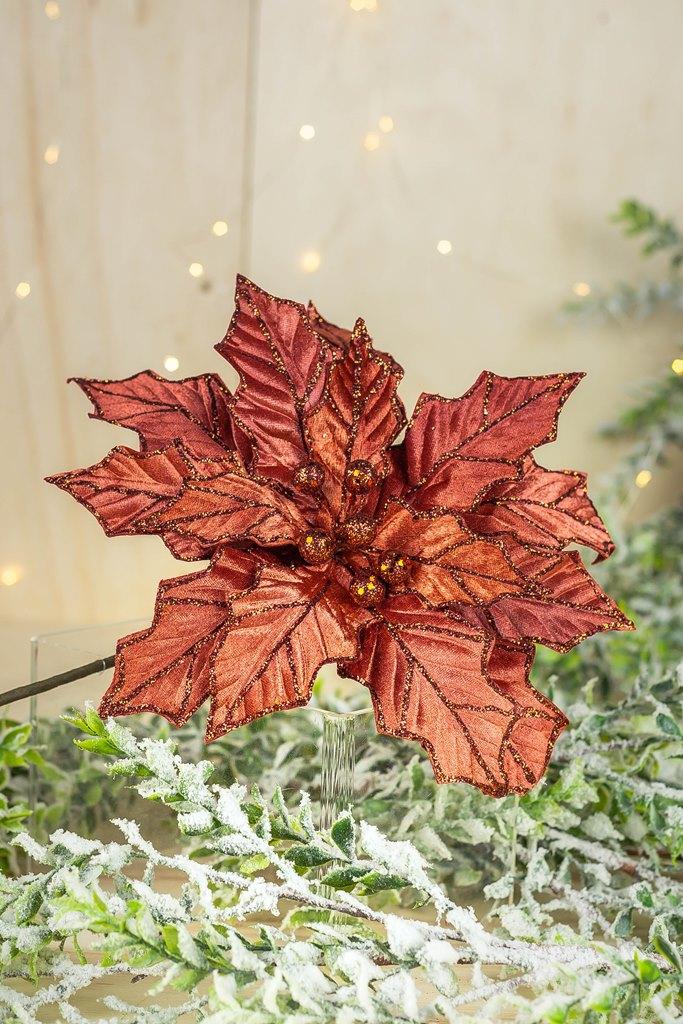 Poinsetia Decorativa - 74cm