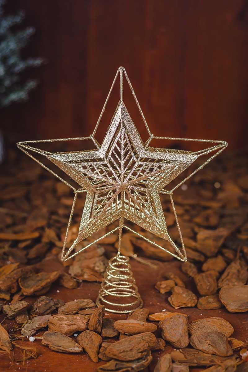 Ponteira Estrela Decorativa - 30cm