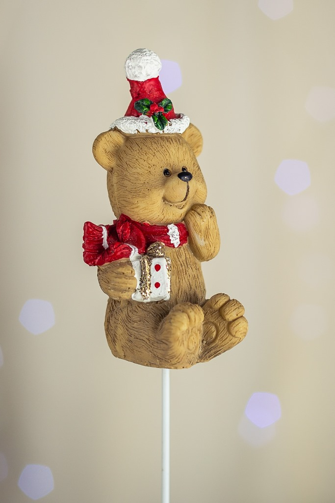 Urso Sentado - 8cm