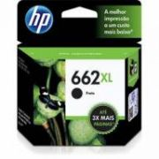 Cartucho de Tinta HP 662XL Preto Original [ 2546, 2646, 2515, 2516, 3515, 3546, 3516, 4646, 1516 ]