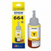 Refil de Tinta Epson 664 Amarelo Original 70 ml