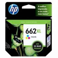 Cartucho de Tinta HP 662XL Color Original [ 2546, 2646, 2515, 2516, 3515, 3546, 3516, 4646, 1516 ]
