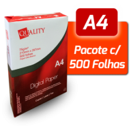 Papel A4 Quality Paper - Pacote com 500 folhas