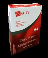 Papel A4 Quality Paper Serrilhado Junior - Caixa com 05 resmas de 500 folhas