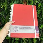 Caderno Inteligente Vermelho Cereja