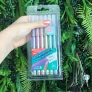 Canetinha Mega Hidrocolor - Kit com 6