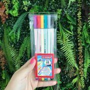 Stabilo Pen 68 Brush - Kit com 6