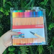 Stabilo Point 88 - Kit com 40 cores