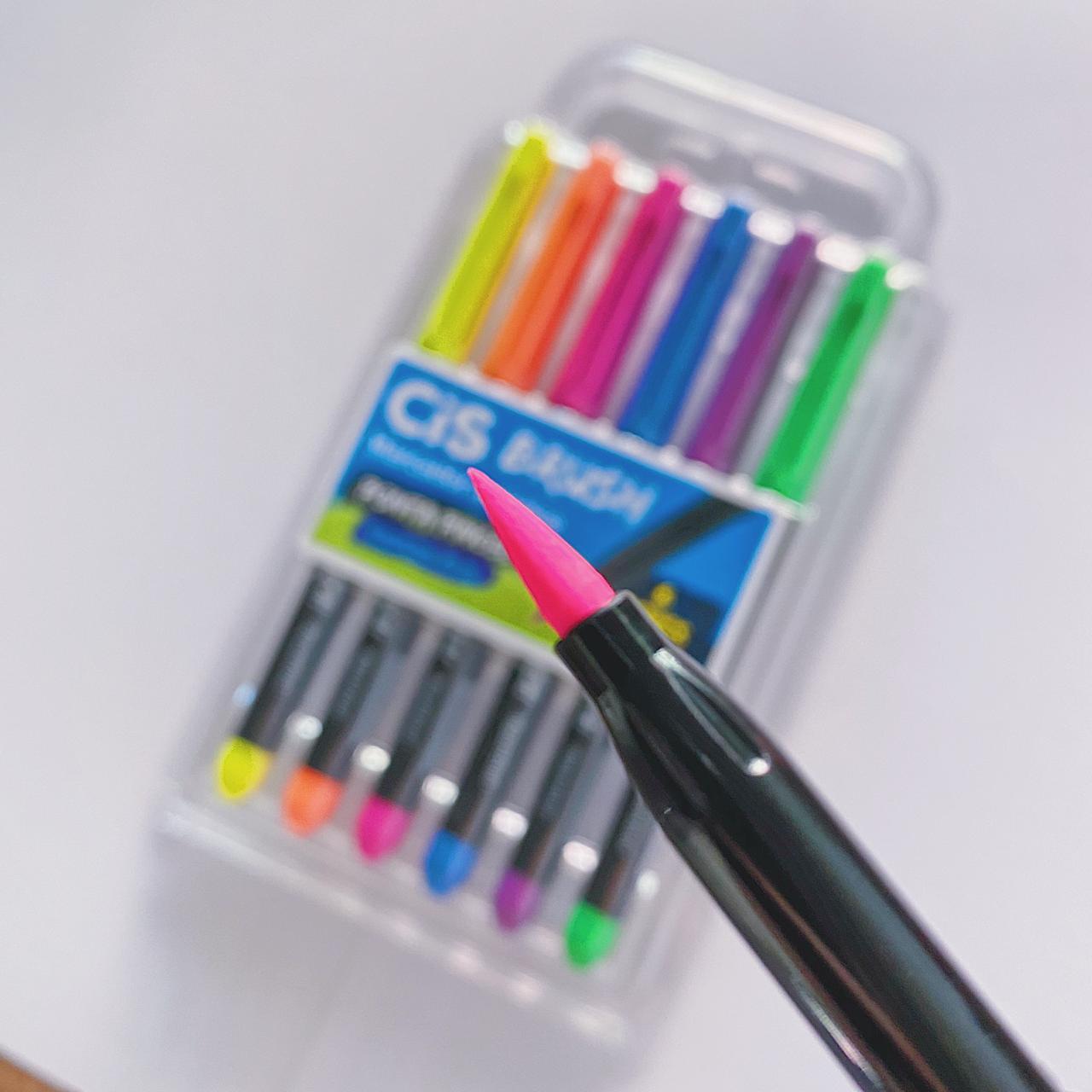 Brush Pen Cis - Kit com 6