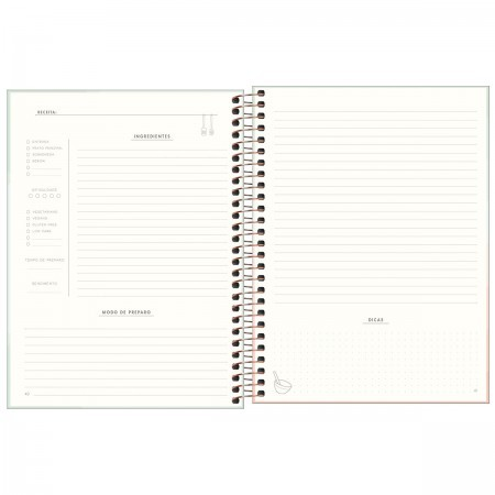 Caderno de Receitas Soho