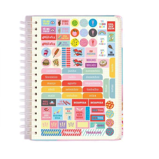 Caderno Espiral - Colegial Donuts