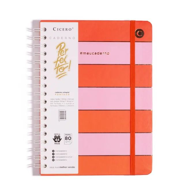 Caderno Espiral - Colegial Todas Juntas