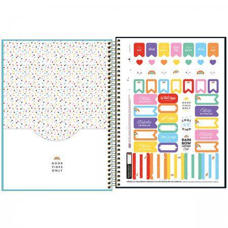 Caderno Espiral Rainbow