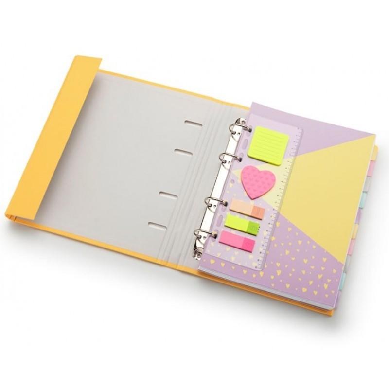 Caderno FC Romantic Amarelo