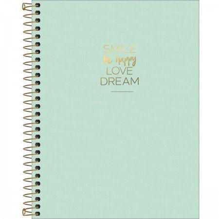 Caderno Happy Verde