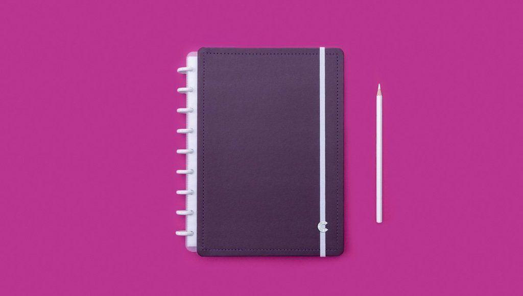Caderno Inteligente Roxo Color
