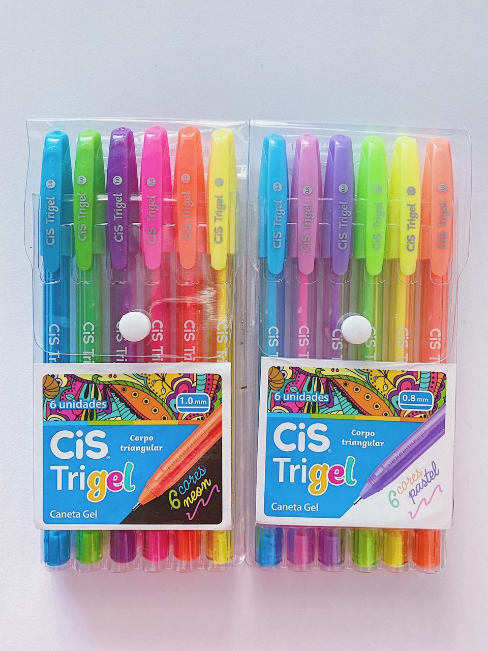 Caneta Trigel - Kit com 6
