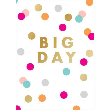 Cartão Big Day