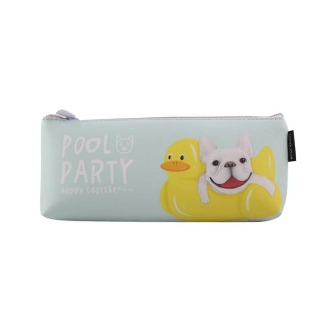 Estojo Cachorrinhos Pool Party