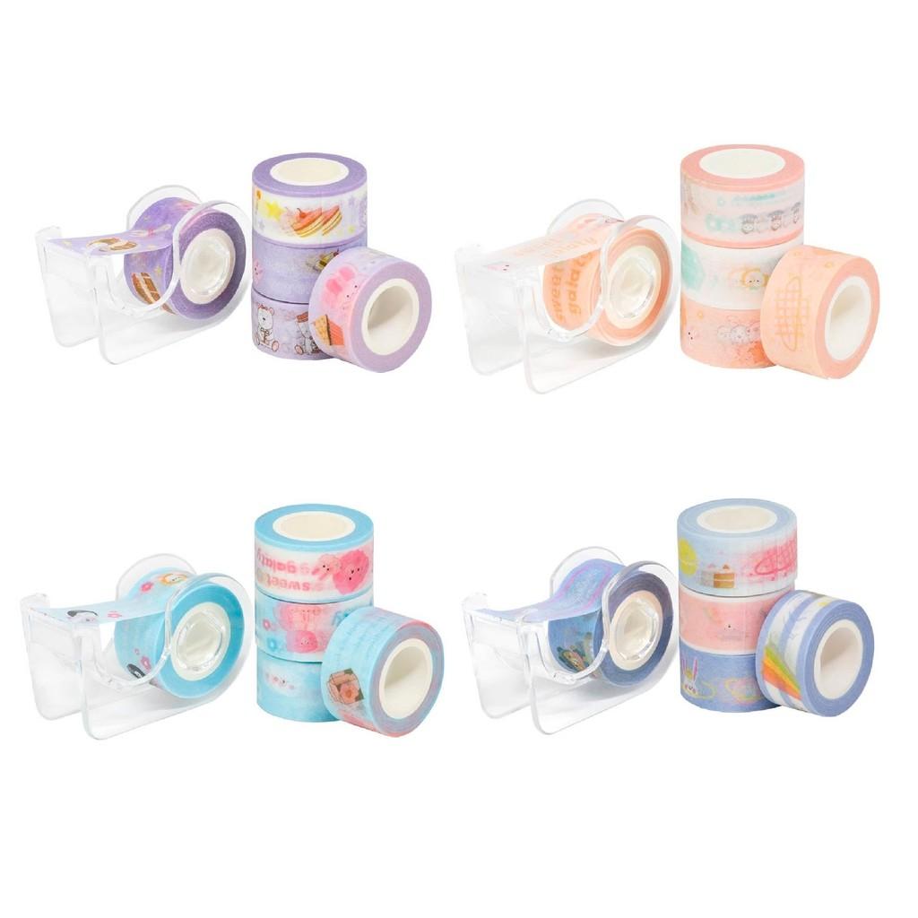 Kit Washi Tape com Dispenser