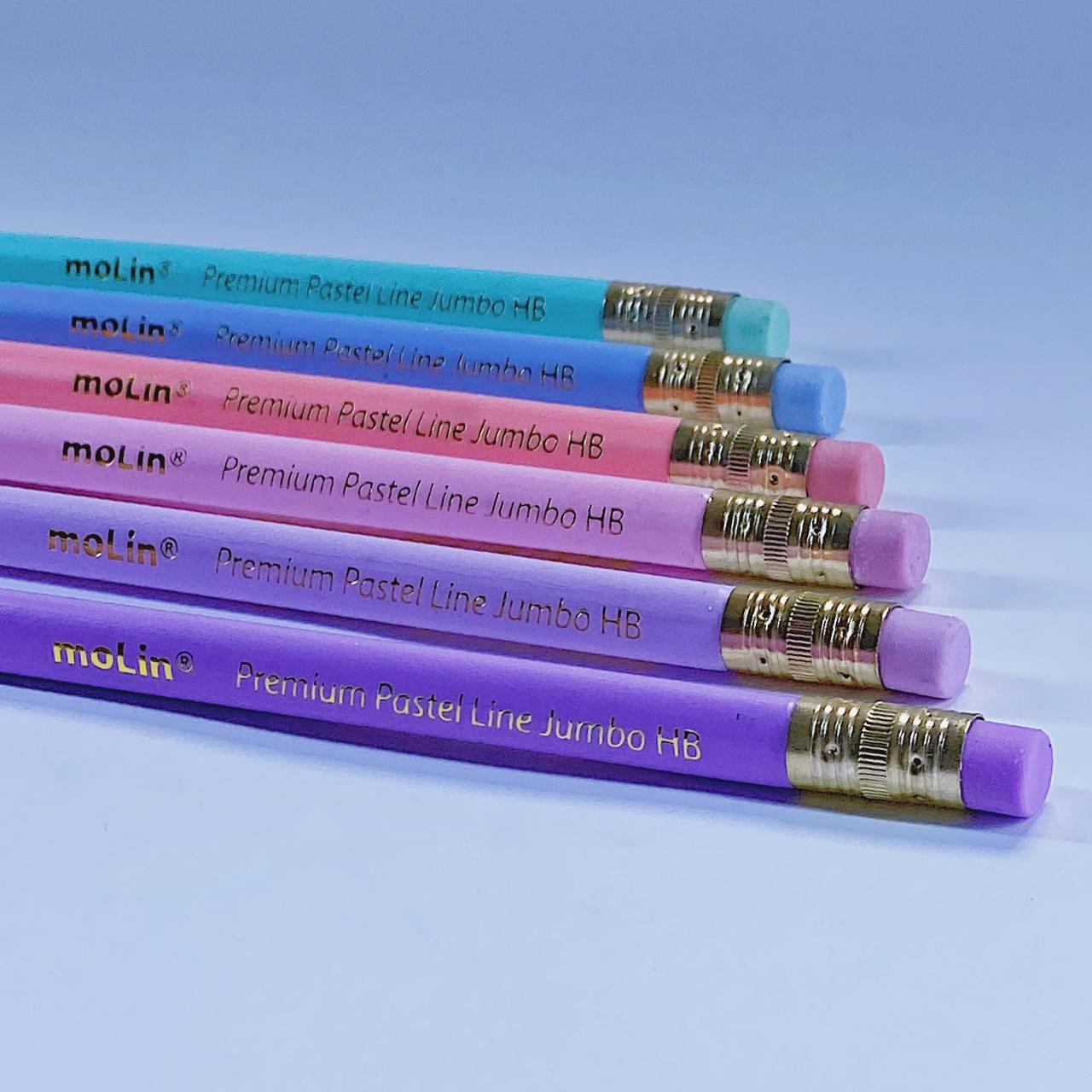 Lápis HB - Premium Pastel Jumbo