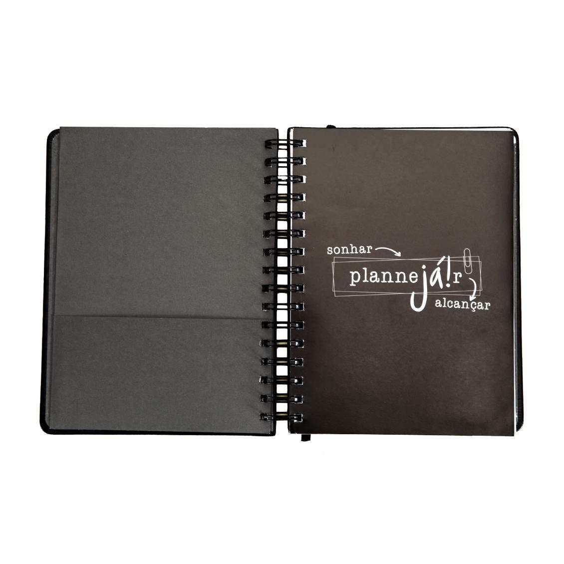 Planner Permanente - Preto
