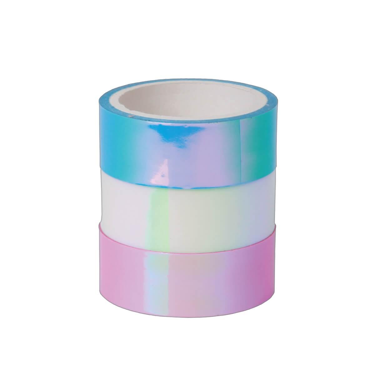 Washi Tape Holográfica kit com 3