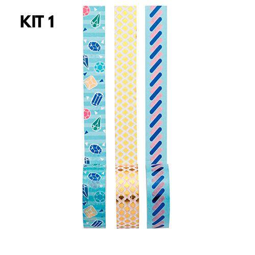 Washi Tape Love - Kit com 3