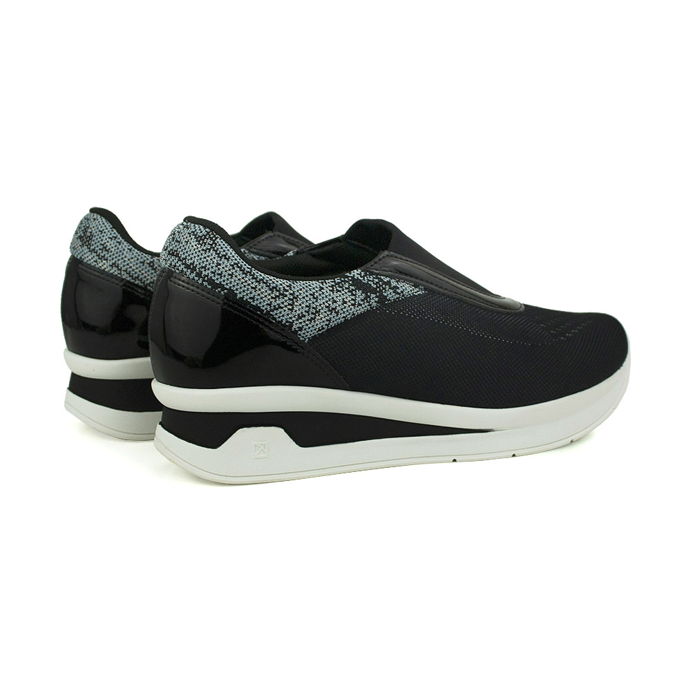 Tênis Casual Anabela Piccadilly Slip On