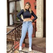Calça Jeans Skinny - Lavagem Clara