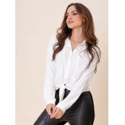 Camisa Recortes - Nina - Off White
